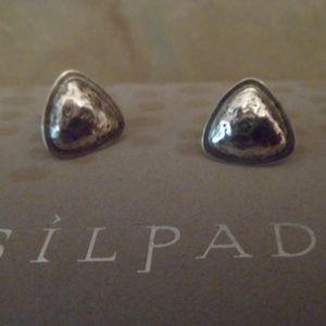 Silpada Sterling Silver Post Earrings P3463